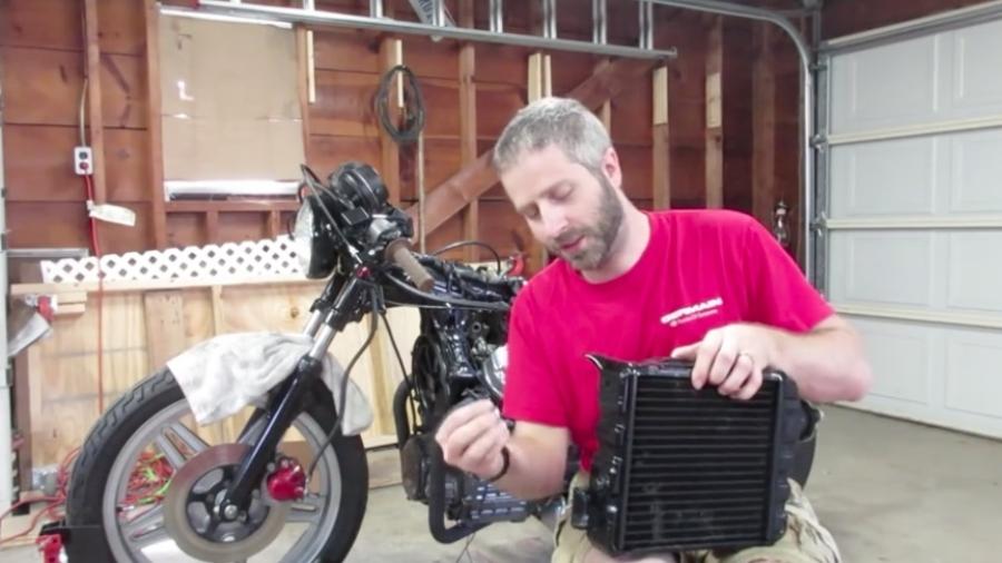 Elektrisk ventilator på CX'er - første del