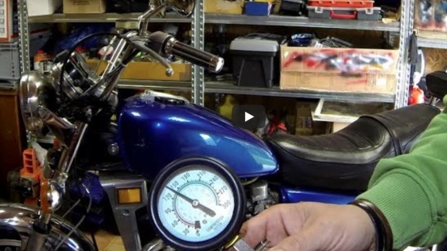 Kompressionstest af din motorcykel