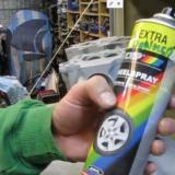 Maling af motordele på CX