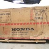 Intet mindre en 600 spritnye Honda CX'ere er fundet på et stort centrallager, hvor de har stået opmagasineret i næsten fire årtier