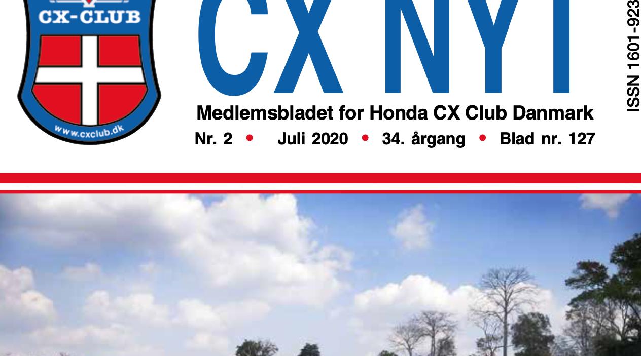 Manglende sider i seneste CX-Nyt